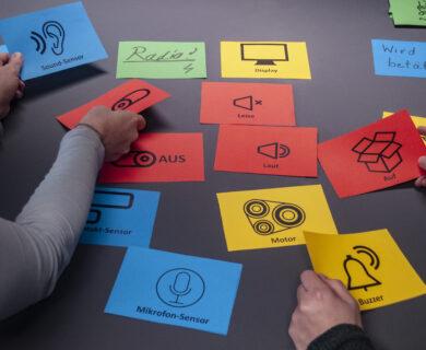 Methoden einer inklusiven Prototypenentwicklung mit Jugendlichen mit Beeinträchtigung